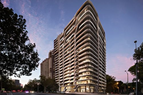 Zaha Hadid - Mayfair residential tower - Melbourne, Australia