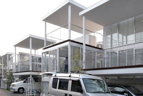 SANAA - shakujii apartment