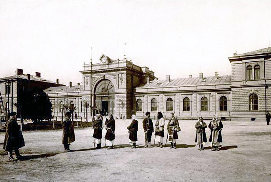 Арх. Адолф Колар - първият главен архитект на София - Централна гара - старата сграда