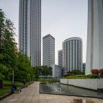 Raffles City, I.M. Pei, СИНГАПУР