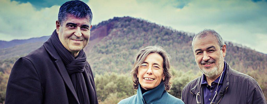 Rafael Aranda, Carme Pigem, Ramon Vilalta